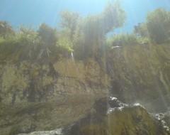 آبشار آب فواره در دلی مهرجان