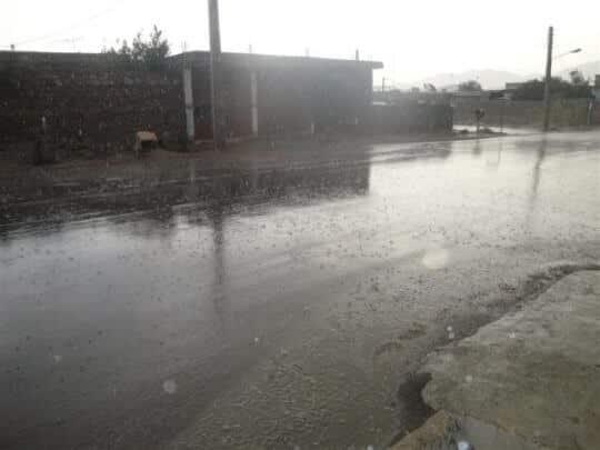 Photo of بارندگی شدید در منطقه لنده