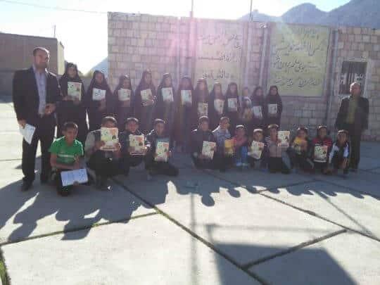 IMG 20151127 100541 - بورسیه دانش آموزان روستای قیام