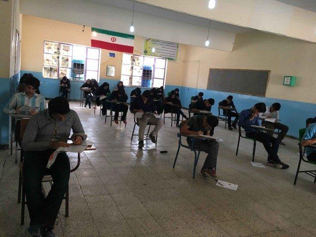 نتیجه آزمون 15 اردیبهشت 96 کانون فرهنگی آموزش واحد لنده