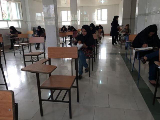 نتیجه آزمون 22 اردیبهشت کانون فرهنگی آموزش واحد لنده