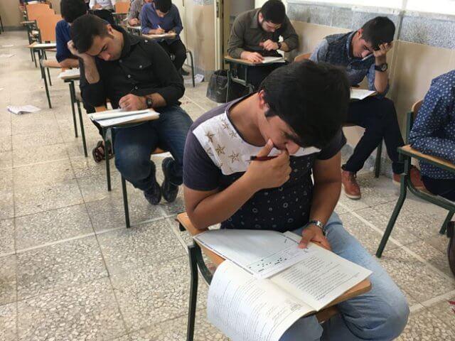 نتیجه اولین کنکور آزمایشی کانون فرهنگی آموزش واحد لنده 12 خرداد 96