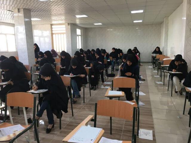 نتیجه کنکور آزمایشی دوم کانون فرهنگی آموزش واحد لنده در 19 خرداد 96