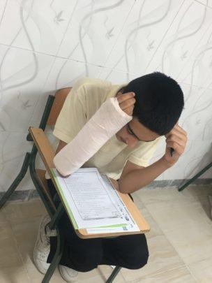IMG 5425 - برترین های کانون لنده در آزمون ۴ آبان ۹۷